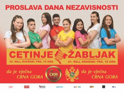 Proslava Dana nezavisnosti – Cetinje 2017 Live Stream