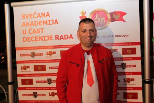 STAV Aleksandar Damjanović predśednik Crnogorske kulturne mreže