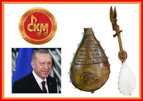 Pismo zahvalnosti predśedniku Republike Turske Redzepu Tajipu Erdoganu